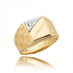 Pánský prsten S14