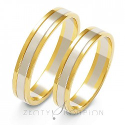 Snubní prsteny A-203