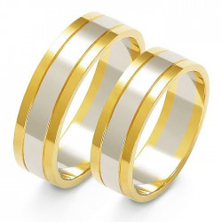 Snubní prsteny A-205