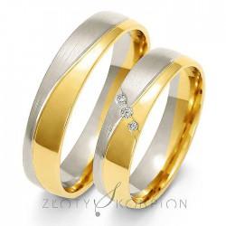 Snubní prsteny A-215