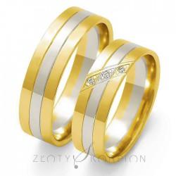 Obrączki ślubne OE-27