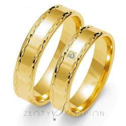 Snubní prsteny O-100