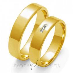 Snubní prsteny O-101