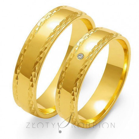 Snubní prsteny O-104