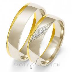 Obrączki ślubne OE-207