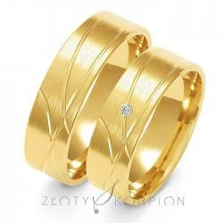 Snubní prsteny A-134
