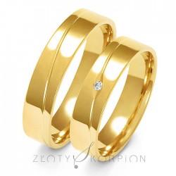 Snubní prsteny A-136