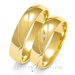 Snubní prsteny A-138