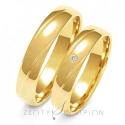 Snubní prsteny A-139