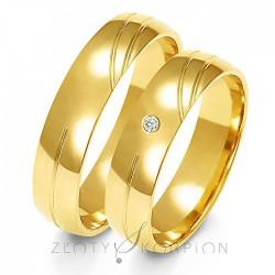 Snubní prsteny A-141
