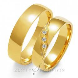 Snubní prsteny A-160