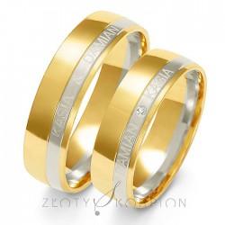 Snubní prsteny A-222