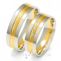 Snubní prsteny A-224