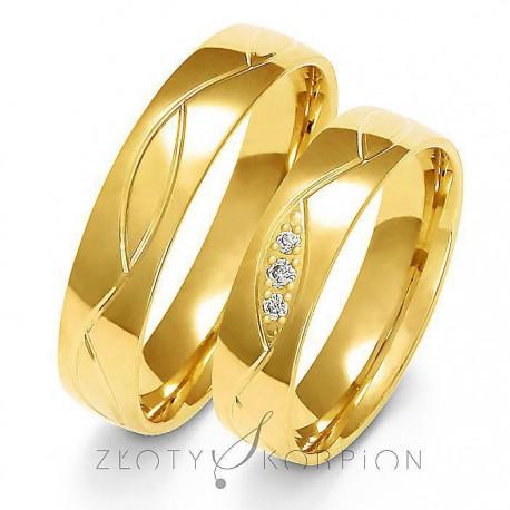 Snubní prsteny A-152