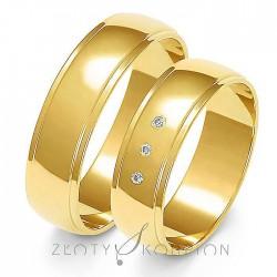 Snubní prsteny A-153