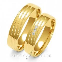 Snubní prsteny A-154