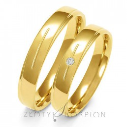 Snubní prsteny A-155