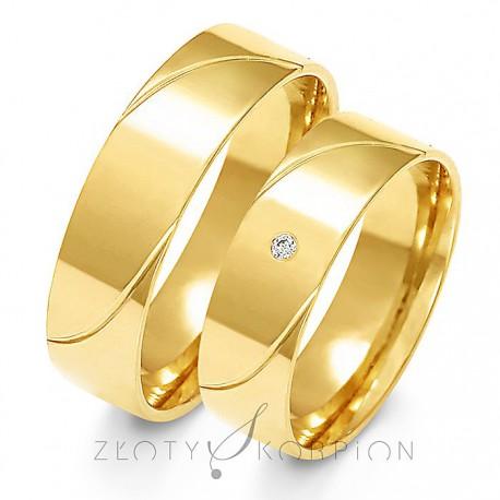Snubní prsteny A-157