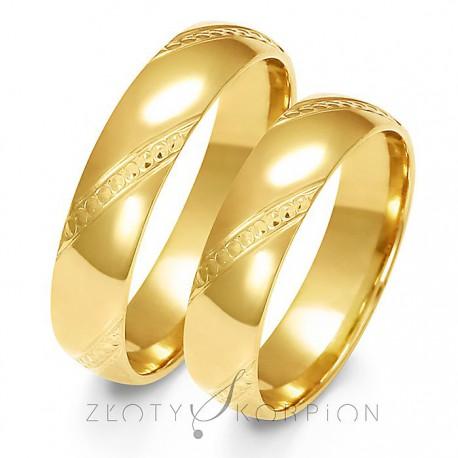 Snubní prsteny A-158