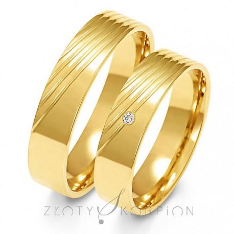 Snubní prsteny A-159