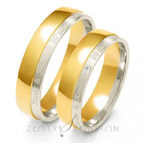 Snubní prsteny A-229