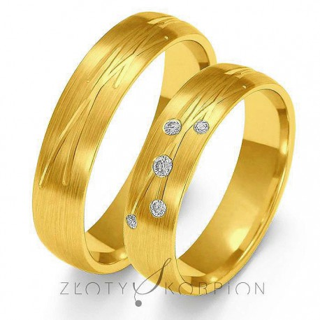 Snubní prsteny O-137