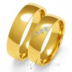 Snubní prsteny O-139