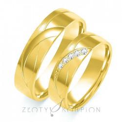 Snubní prsteny B-107