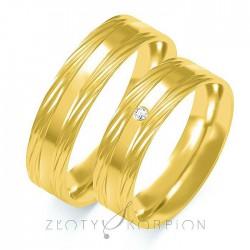 Snubní prsteny B-108