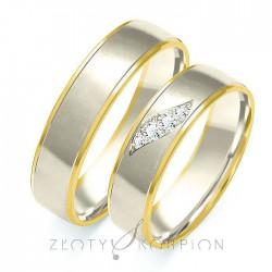 Snubní prsteny B-201