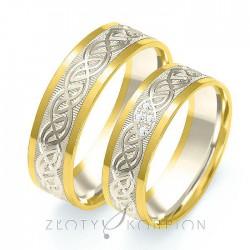 Snubní prsteny B-204