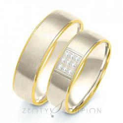 Snubní prsteny B-205