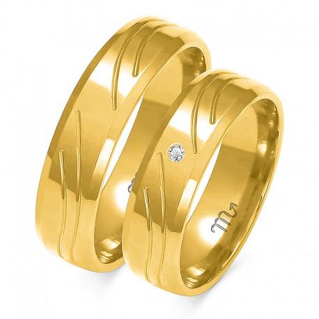 Snubní prsteny A-123