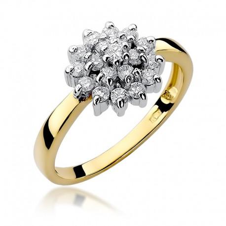 Prsten s diamantem W-4