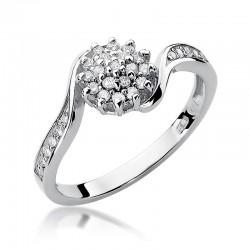 Prsten s diamantem W-11