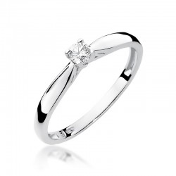 Prsten s diamantem W-45