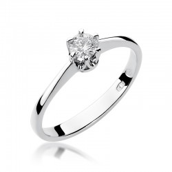 Prsten s diamantem W-220