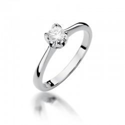 Prsten s diamantem W-47