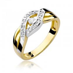 Prsten s diamantem W-83