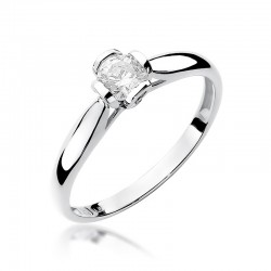 Prsten s diamantem W-86