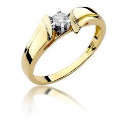 Prsten s diamantem W-300