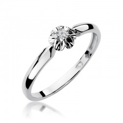 Prsten s diamantem W-187