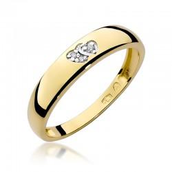 Prsten s diamantem W-189
