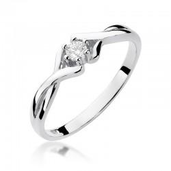 Prsten s diamantem W-190b