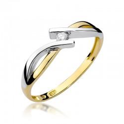 Prsten s diamantem W-191