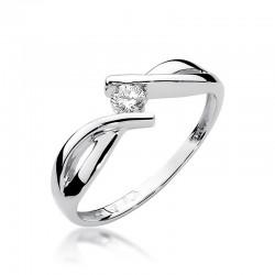 Prsten s diamantem W-191b