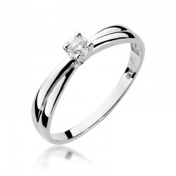 Prsten s diamantem W-230
