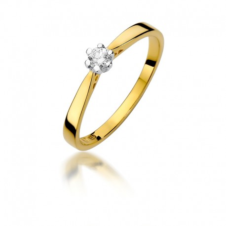 Prsten s diamantem W-229