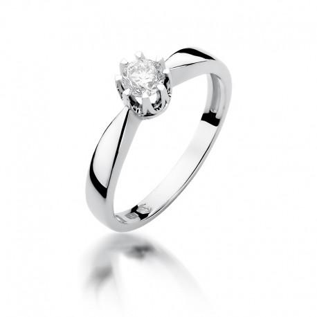 Prsten s diamantem W-228