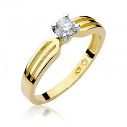 Prsten s diamantem W-226B